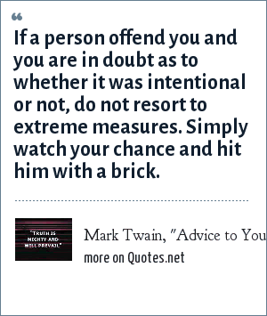 Mark Twain,