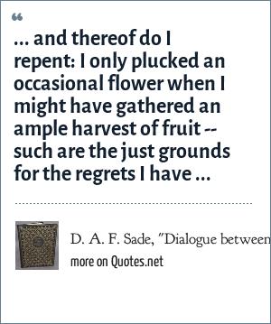 D. A. F. Sade,