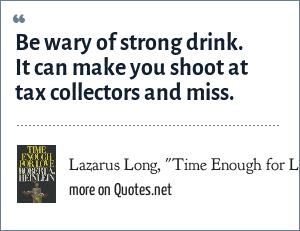 Lazarus Long,