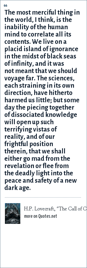 H.P. Lovecraft,