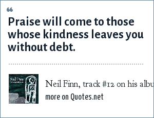 Neil Finn, track #12 on his album