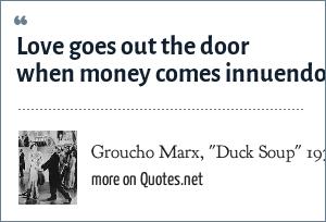 Groucho Marx,