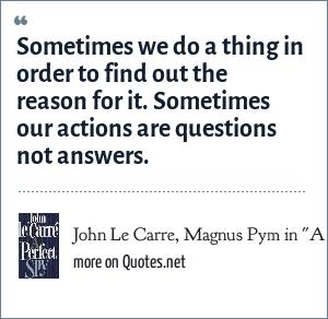 John Le Carre, Magnus Pym in