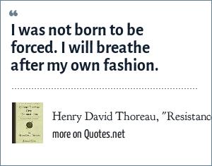 Henry David Thoreau,