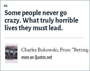 Charles Bukowski, From