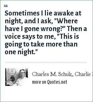 Charles M. Schulz, Charlie Brown in