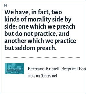 Bertrand Russell, Sceptical Essays (1928),