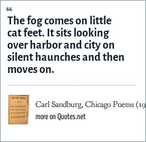 Carl Sandburg, Chicago Poems (1916)