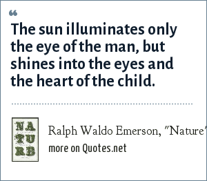 Ralph Waldo Emerson,