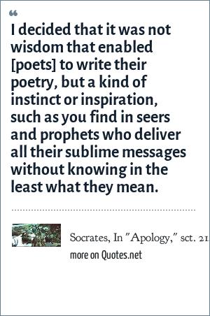 Socrates, In