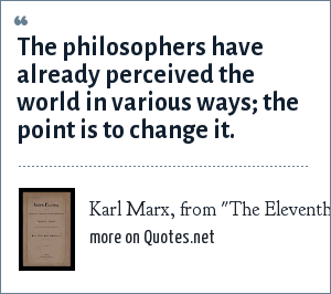 Karl Marx, from