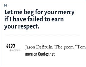 Jason DeBruin, The poem