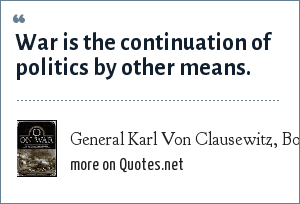 General Karl Von Clausewitz, Book:
