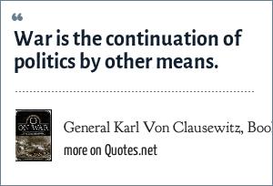 General Karl Von Clausewitz, Book: