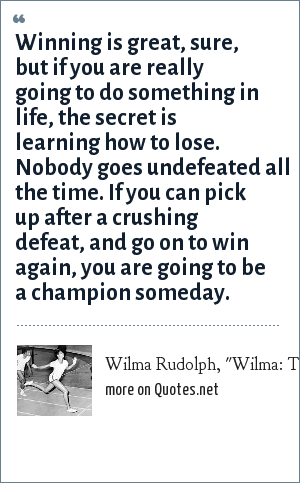 Wilma Rudolph,