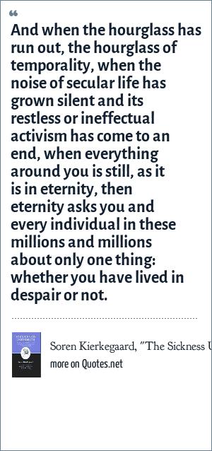Soren Kierkegaard,