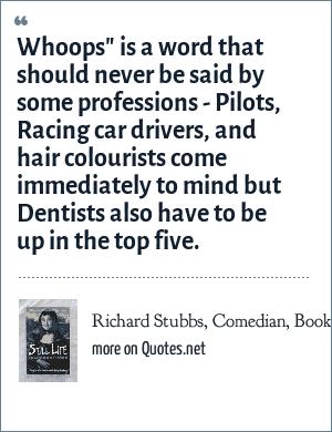 Richard Stubbs, Comedian, Book -