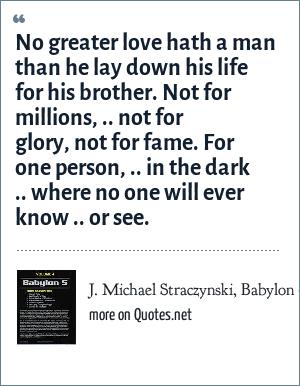 J. Michael Straczynski, Babylon 5 (Television Series)