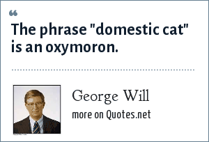 George Will: The phrase