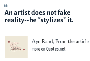 Ayn Rand, From the article