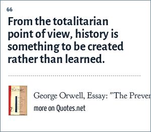 George Orwell, Essay: