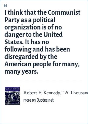 Robert F. Kennedy,