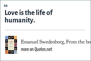Emanuel Swedenborg, From the book