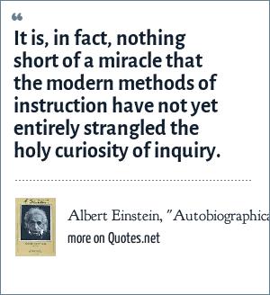 Albert Einstein,