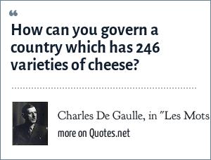 Charles De Gaulle, in