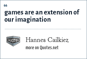 Hannes Cailkiez: games are an extension of our imagination