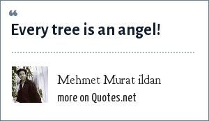 Mehmet Murat ildan: Every tree is an angel!
