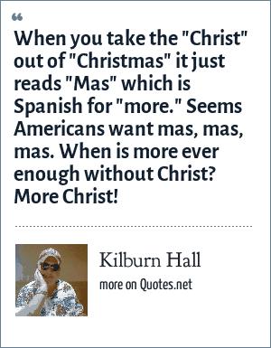 Kilburn Hall: When you take the