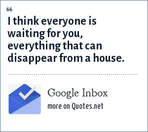 Google Inbox: I think everyone is waiting for you